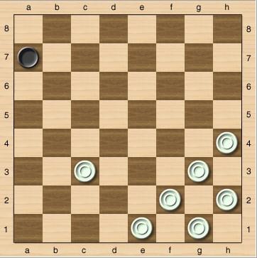 Правила игры в шашки