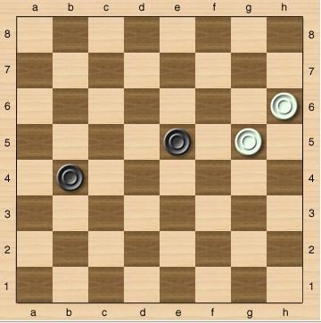Комбинации в шашках