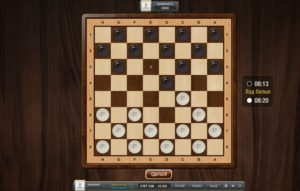Онлайн шашки с реальными людьми на LuckForFree