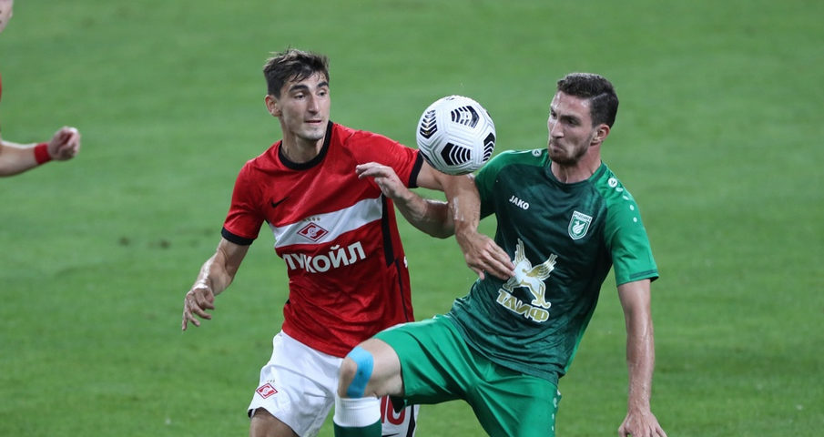 Рубин - Спартак Москва - 24 июля 2021