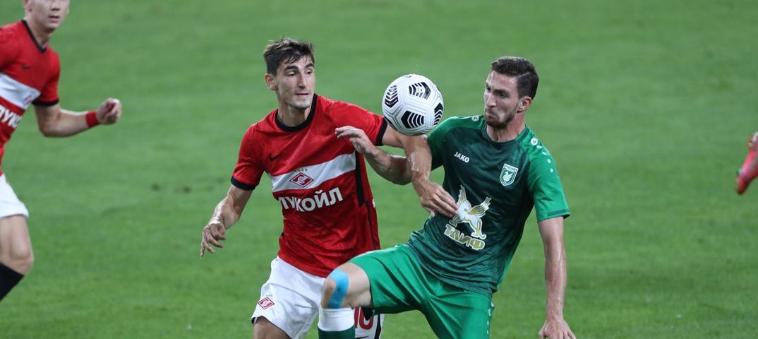 Рубин — Спартак Москва — 24 июля 2021